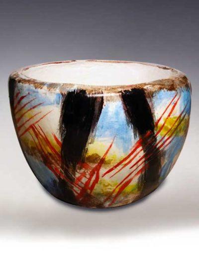 Ciotola di ceramica informale del corso intermedio
