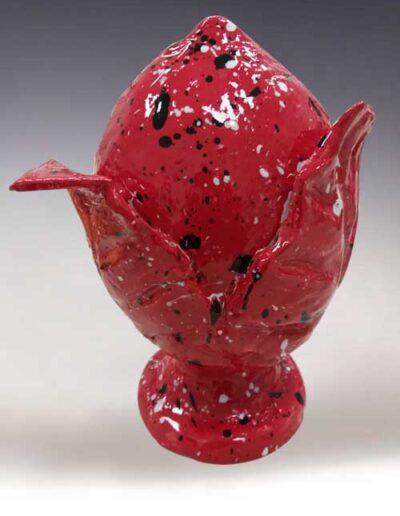 Pomo in ceramica pugliese del corso di ceramica base