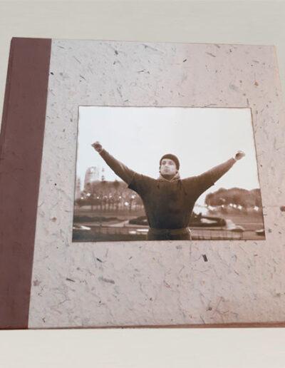 Album fotografico con Rocky in copertina