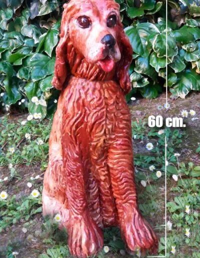 Cane di ceramica alto 60 cm
